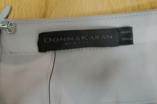 Silk Donna York Us6; Grey Lined Trousers Uk10 Bnwt Evening Karan Ladies New 08OknwP