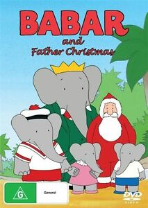 Babar-And-Father-Christmas-DVD-XMAS-TV-MOVIES-FAMILY-BRAND-NEW-R4
