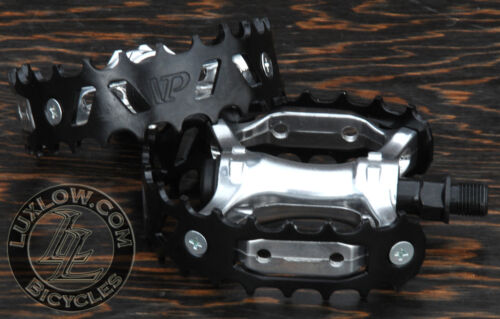 "Black Bear Trap Bike Pedals 1//2/"" Vintage Schwinn Cruiser Old School BMX Bicycle"