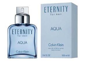 Eternity-Aqua-by-Calvin-Klein-3-4-oz-EDT-Cologne-for-Men-New-In-Box
