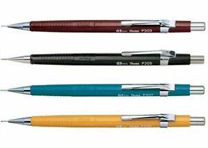 Pentel-P200-Automatic-Mechanical-Pencil-0-3-0-5-0-7-0-9-mm-P203-P205-P207-P209