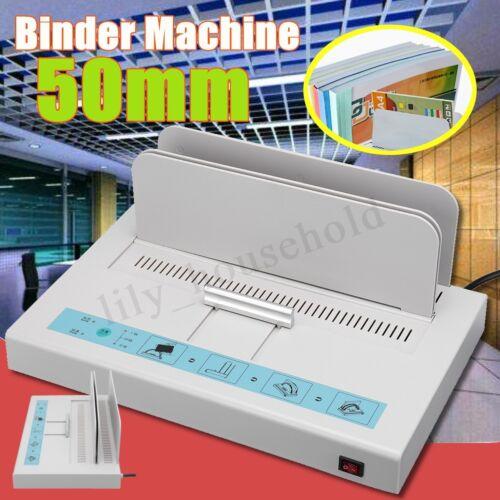 Bindegeräte Thermobindegerät Bindemaschine Büro 220V 50mm Für A3 A4 A5 A6 Papier