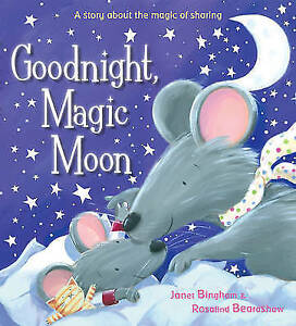 Goodnight-Magic-Moon-Bingham-Janet-Acceptable-Fast-Delivery