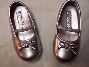 8b5d12b64205 Image is loading NWT-Gymboree-Royal-Garden-Metallic-Ballet-Flats-Crib-