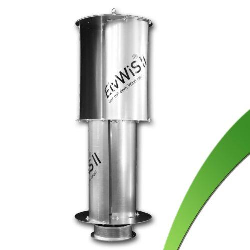 220W vertikal Windgenerator ElvWiS ® II ALUMINIUM Windrad Windkraftanlage VAWT
