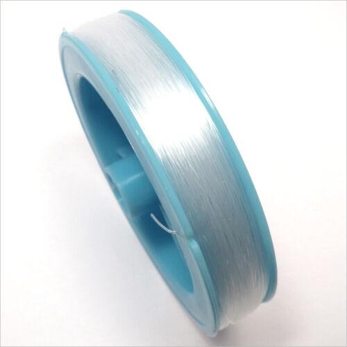 Cordon de Nylon fil de pêche 0.5mm 100 Mètres Transparent