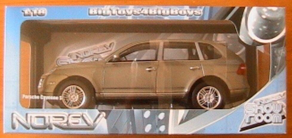 descuento de bajo precio PORSCHE CAYENNE S 2006 2006 2006 OLIVE GRUN METAL NOREV 187531 1 18 NEW  autentico en linea
