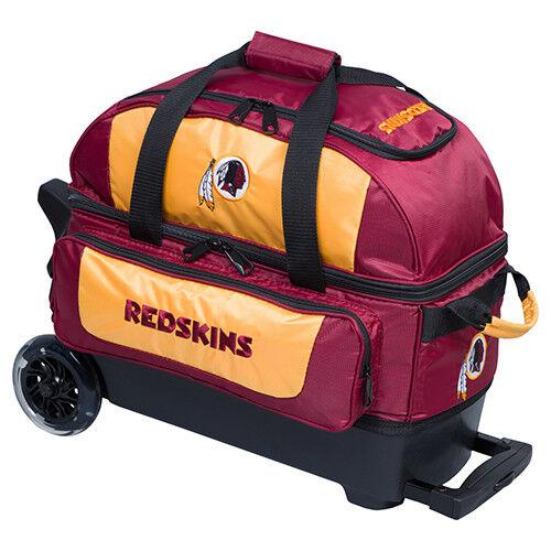 KR Strikeforce NFL Washington Redskins 2 Ball Roller Bowling Bag
