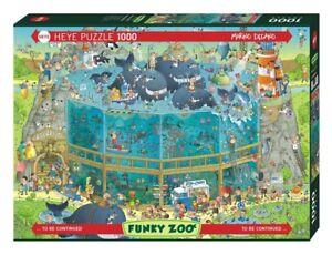 MARINO DEGANO - FUNKY ZOO : OCEAN HABITAT - Heye Puzzle 29777 - 1000 Teile Pcs.