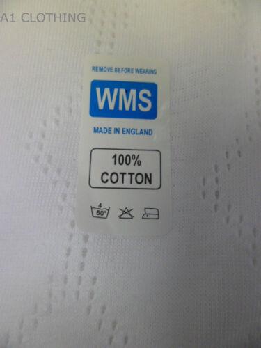 3 PAIRS LADIES WHITE 100/%COTTON MESH Airtax CUFF LEG BRIEF size 10 to 28 new