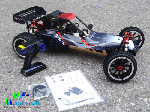 1 von 1 - Amewi Pitbull X 1:5 RC Modellauto Benzin Buggy Heckantrieb RtR 2,4 GHz