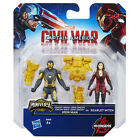 Marvel Captain America Civil War - Iron Man VS Scarlet Witch Action Figure