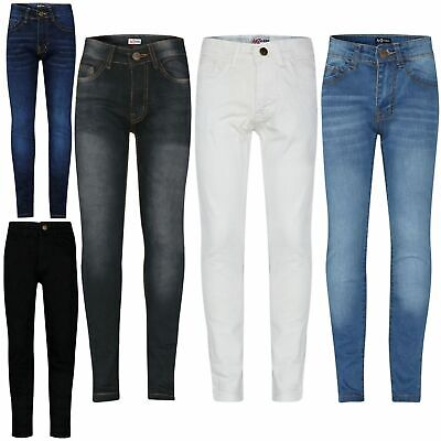 Girls F/&F Jeggings Jeans New Kids Skinny Trousers Stretchy Pants Age 6-13 Years