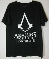 Assassins Creed Syndicate Men's Large T-shirt Graphic Tee S/s