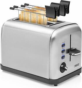 Princess-142354-Grille-Pain-avec-Pinces-pour-Sandwich-2-Fentes-Acier-Inoxydable