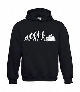 Evolution-Biker-Men-039-s-Hoodie-I-Hoodie-I-Hoodie-to-5XL