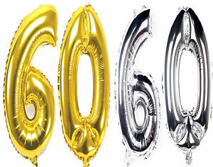 Image Is Loading 16 034 INCH Giant 60th Birthday Party Number