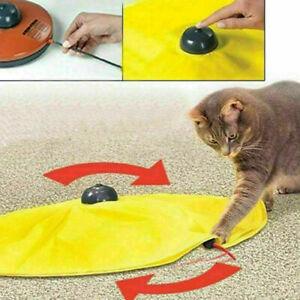 Haustier-Katze-Meow-Spielzeug-V4-elektronische-interaktive-Undercover-Maus-D7G8