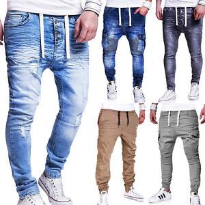 Herren Jogg-Jeans  & Chino-Jogger, versch. Modelle, Denim Hose NEU WOW
