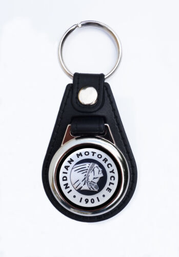 KEY FOB CLASSIC INDIAN MOTORCYCLES INDIAN MOTORCYCLES FAUX LEATHER KEY RING
