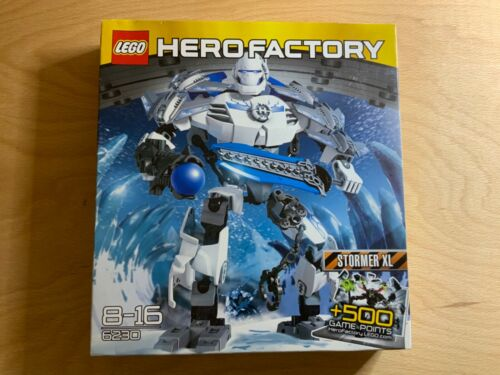 Lego 6230 Hero Factory Stormer XL Retired /& ULTRA RARE Brand New in sealed Box