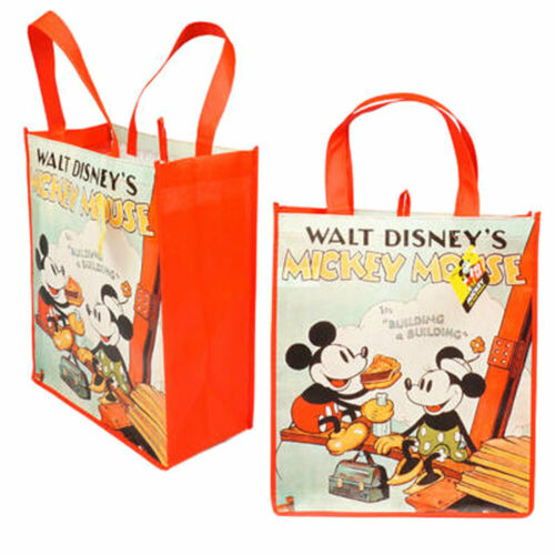 Walt Disney/'s Mickey Mouse Minnie Vintage Classic Reusable Shopping Gift Bag