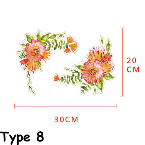 Furniture Ornament Fridge  Home Decor Flower Vine Toilet Decals Wall Stickers