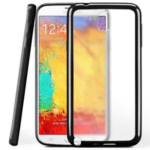 Custodia-Rigida-per-Samsung-Galaxy-Nota-3-Neo-Back-Cover-Trasparente-Opaco