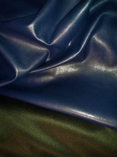 stop destock faux cuir simili col bleu vente au metre tissu skai