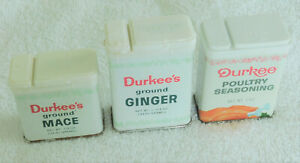 EMPTY Metal Herbal Sweets Tins St Claires Organics Ginger Pastilles LOT OF 14