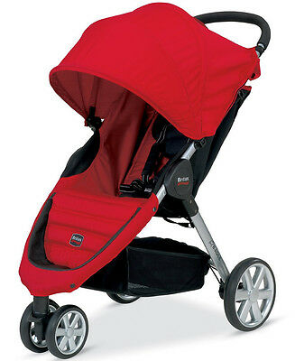 Britax 2013 B-Agile Stroller in Red Brand New! Free Ground Shipping!