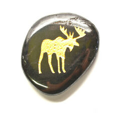 Moose Crystal Palm Totem Native American Power Healing Gem Stone - Supportive