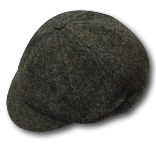 Tradizionale LANA FLANELLA SCHOOL UNIFORM berretti-TAGLIE ADULTO-Molti Colori