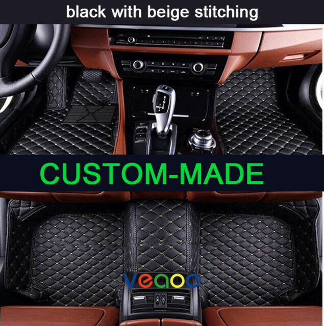 Car Floor Mats For Acura MDX 7 Seat 2007-2013 All Weather