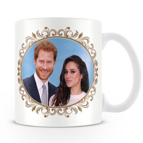 Ceramic Coffee Mug HRH Prince Harry /& Ms Meghan Markle  Engagement