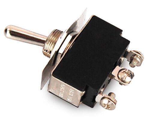 Schalter Kippschalter ON-OFF-ON Leistungsschalter 2 Schließer 3 Kontakte
