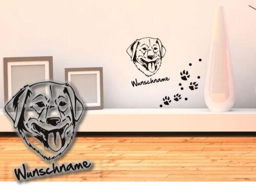 Tapisserie Golden retriever h201 chiens pattes wunschname patmol