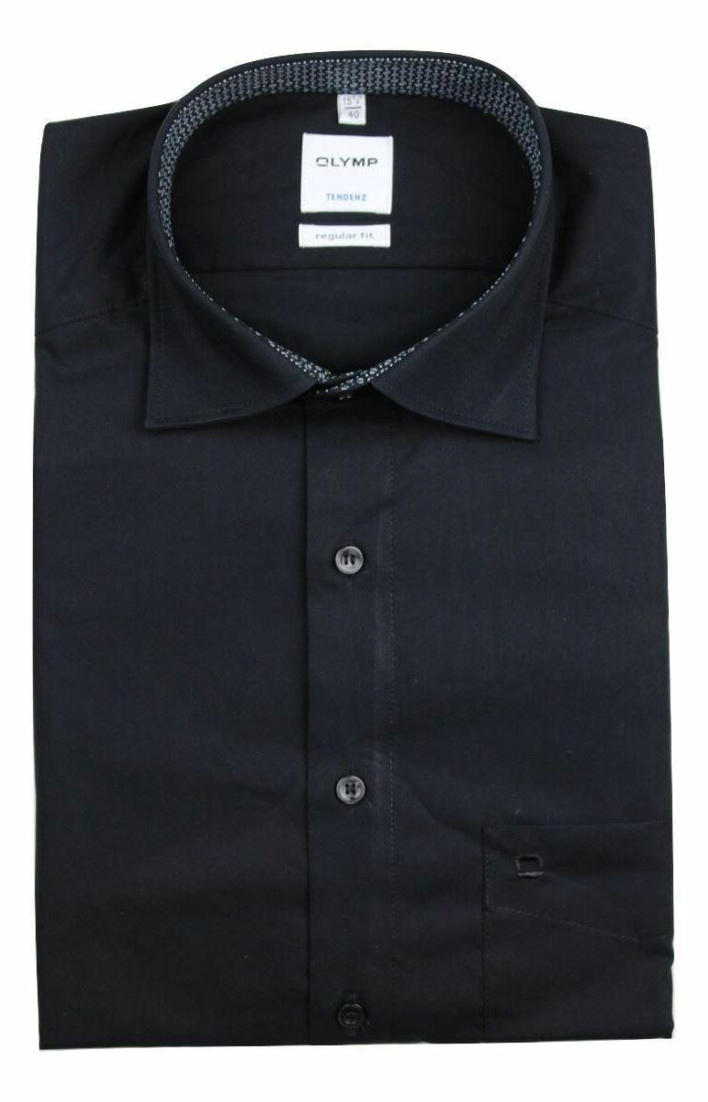 Black (Bean Contrast) Spread Collar