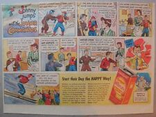 Nestle's Chocolate Bars Ad: Neddy Nestle! 1930's-1940's 11 x 15 inches