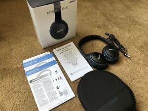 9993073ca98 Bose SoundLink Wireless Around Ear Headphones II for sale online | eBay