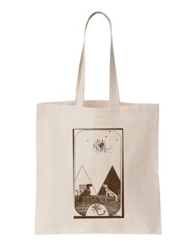 Vintage Egyptian Tarot 100/% Cotton Eco No Waste Tote Shopping Bag 150GSM 5OZ