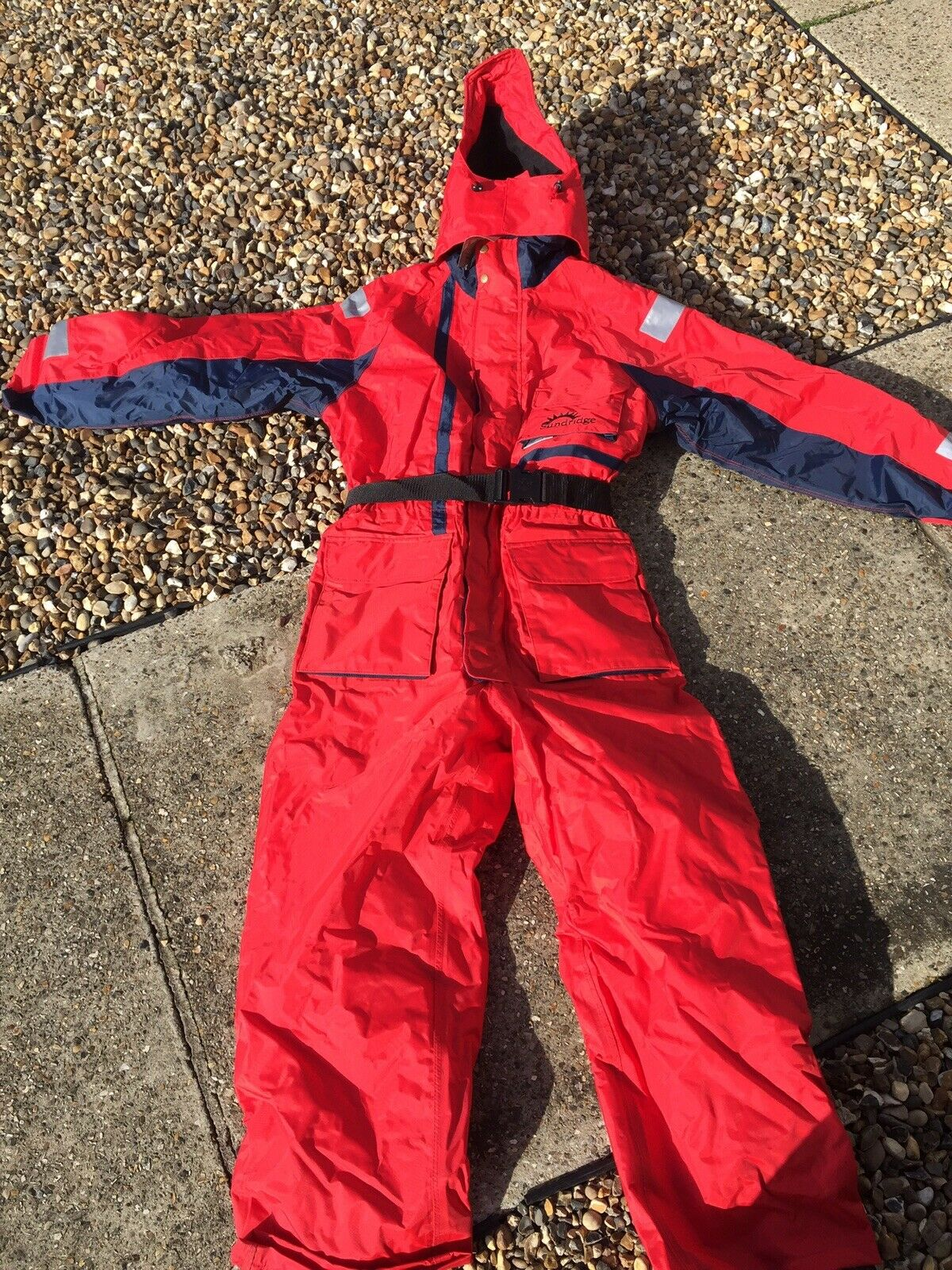 Brand New Sunridge Scotchlite Relfective Buoyancy Aid Suit Floatation Safety Red