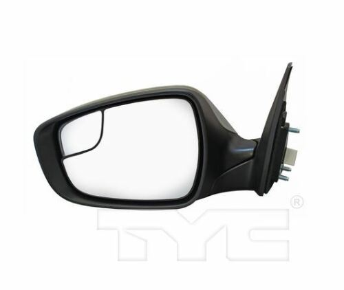 TYC Left Mirror for Hyundai Elantra Power w//o Heat w//o Signal 2014-2016 Models