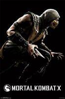 Warner Brothers Mortal Kombat X Scorpion 22x34 Poster Free Ship
