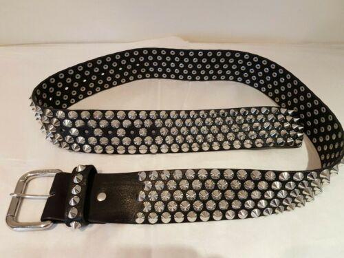 Cintura Hm regolabile pelle in borchie Jimmy Choo New con nera per vera hCsQdtr