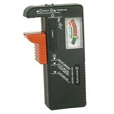 Mercury 600.098 Universal Battery Tester PP3 AA AAA C D Watch Button Cells - New
