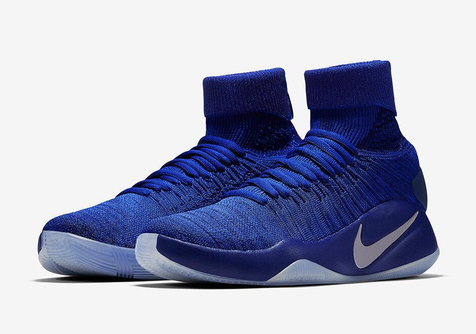 BRAND NEW Nike Hyperdunk 2016 FK Flyknit Royal 13.5 Blue Men's Basketball Shoes 13.5 Royal 025dea