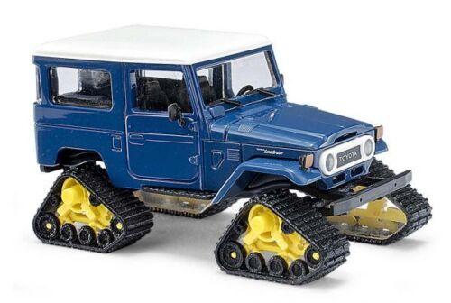 Busch 43038-1//87 H0 Toyota Land Cruiser Mit Raupenantrieb Neu Blau