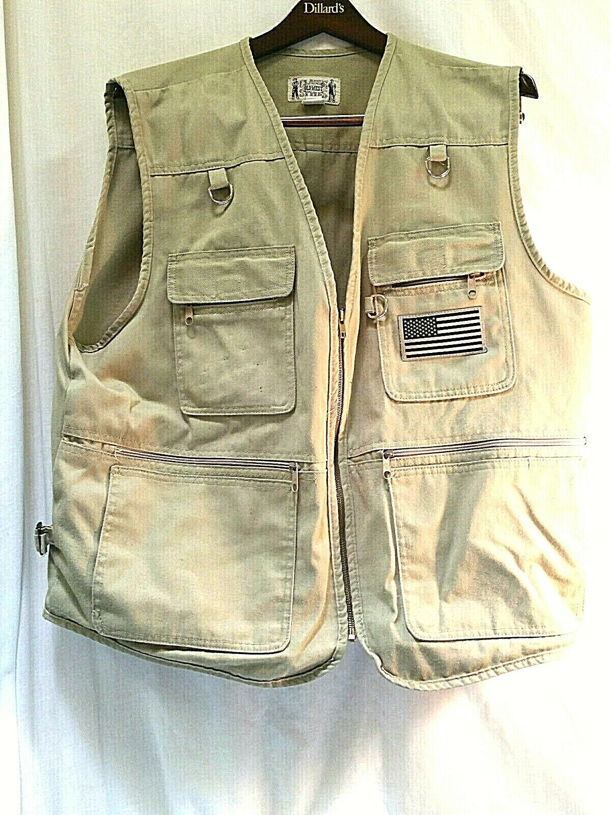 Classic Old  West Style Brand Hunting Vest 3XL  happy shopping