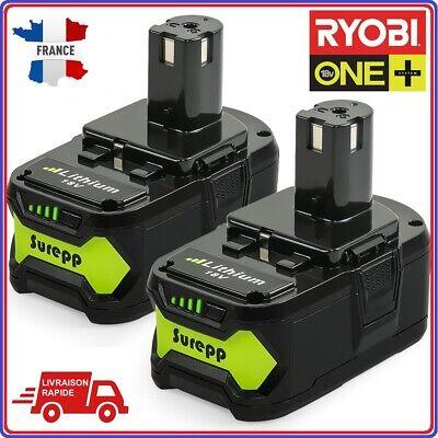 Out RW2 12V-18V Chargeur De Rechange Pour Pack Batterie Rechargeable Ryobi P117